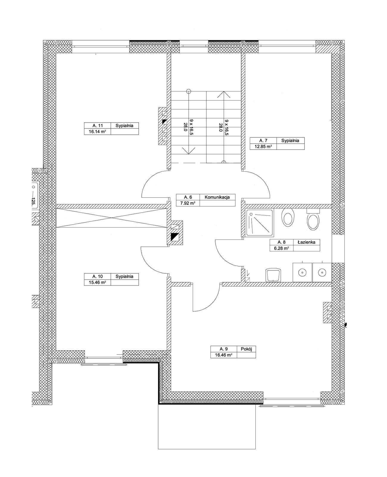 Zielony Krzewnik - budynek Apiętro