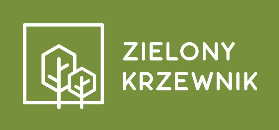 Zielony Krzewnik – logotyp domów jednorodzinnych w Łodzi